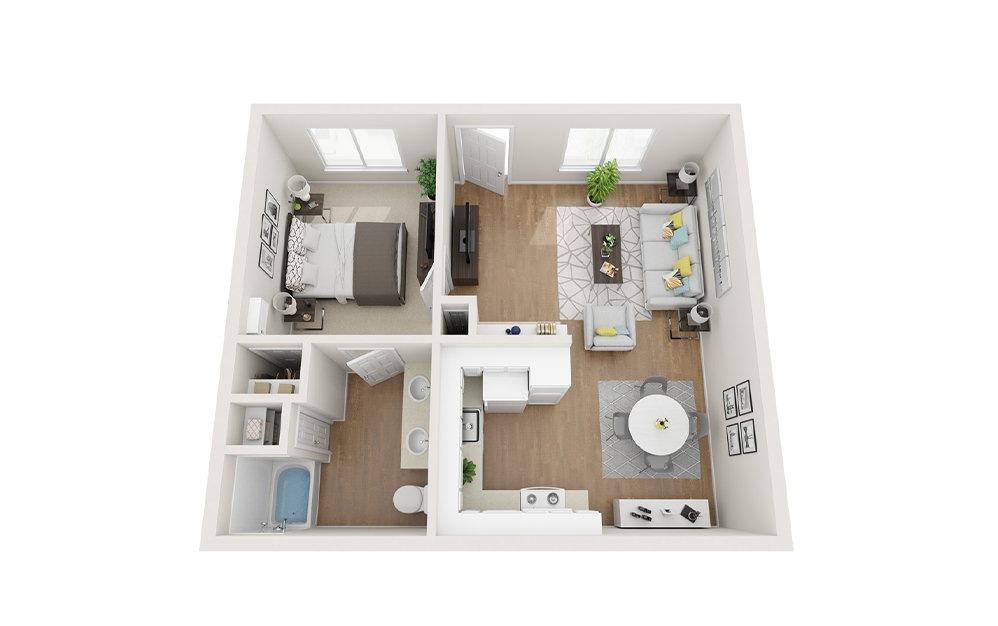 Floorplan 1x1