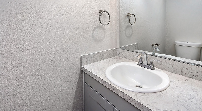 Renovated Townhome - Bathroom Sink