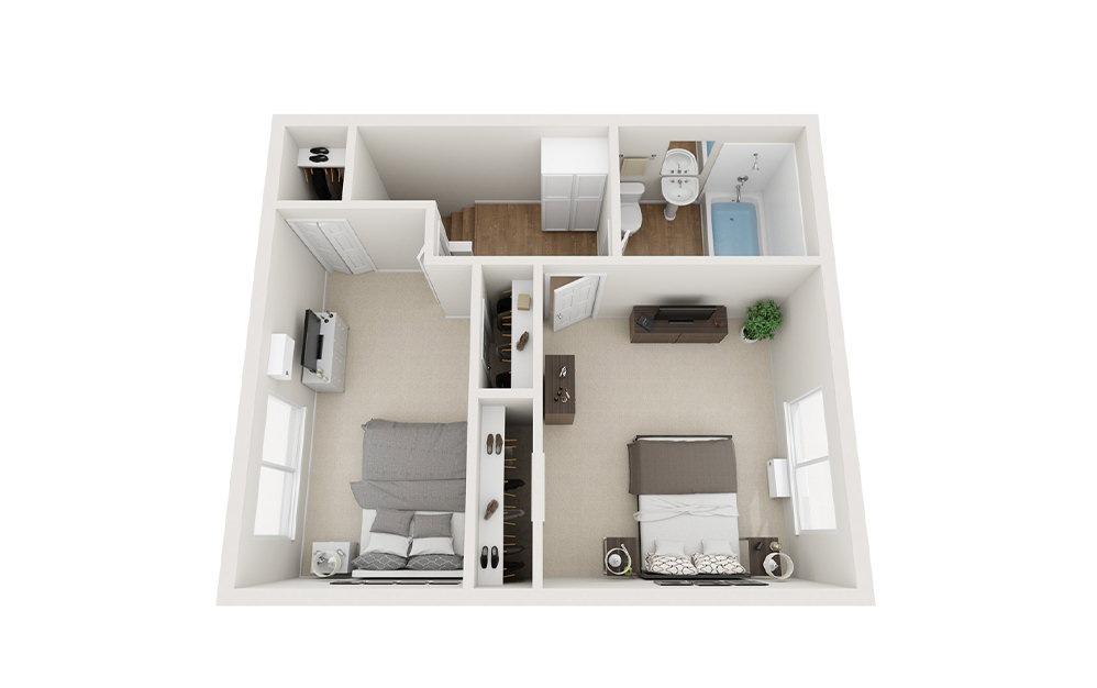 Floorplan 2x1.5