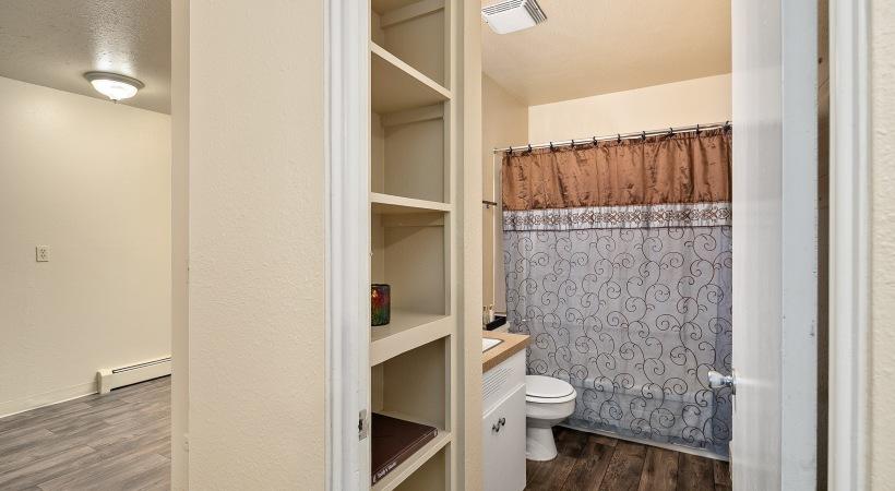Two Bedroom, One Bedroom - Bathroom