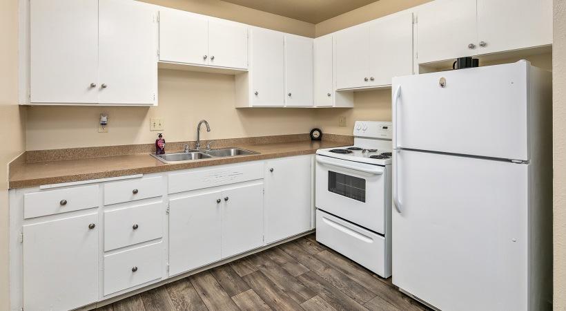 Two Bedroom, One Bedroom - Kitchen