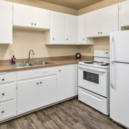 Two Bedroom, One Bath - Kitchen