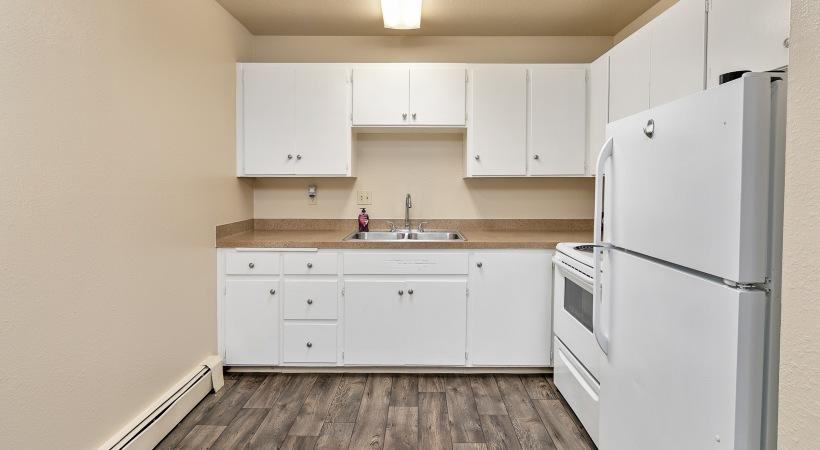 Two Bedroom, One Bathroom - Kitchen