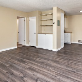 One Bedroom - Living and Dining Rooms