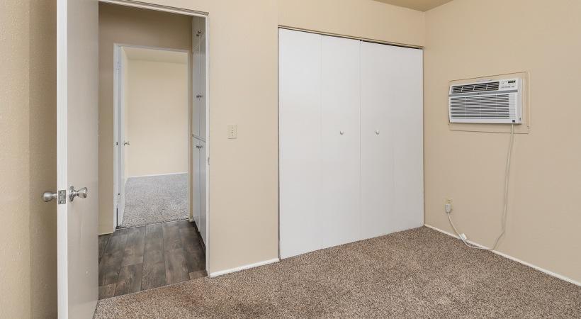 Two Bedroom, One Bathroom - Master Bedroom to Guest Bedroom